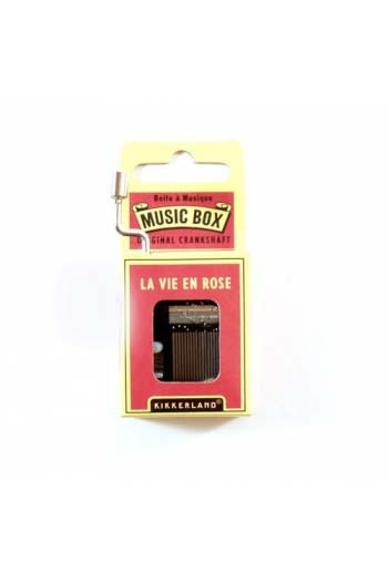 Hand Crank Music Box: La Vie En Rose