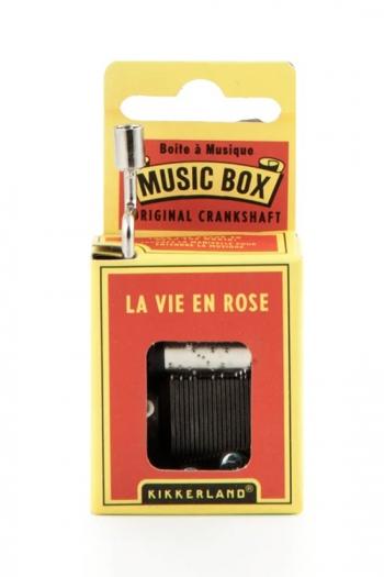 Hand Crank Music Box: La Vie En Rose