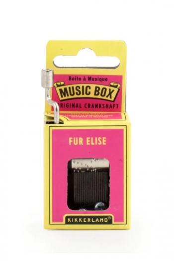 Hand Crank Music Box: Beethoven - Fur Elise