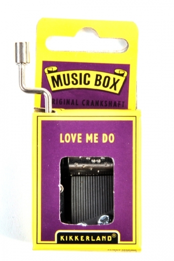 Hand Crank Music Box: The Beatles - Love Me Do