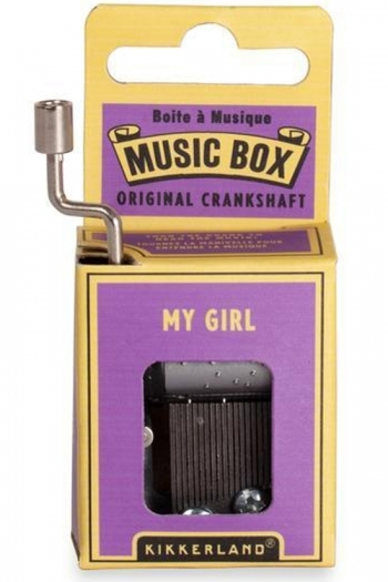 Hand Crank Music Box: My Girl