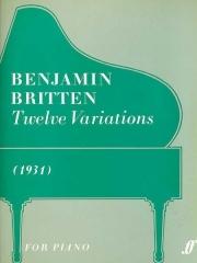 Twelve Variations: Piano (Faber)