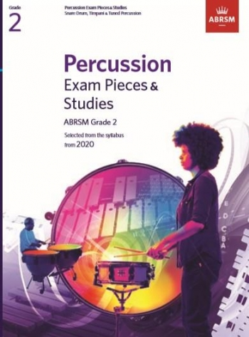 ABRSM: Percussion Exam Pieces & Studies: Grade 2: From 2020