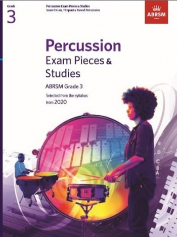ABRSM: Percussion Exam Pieces & Studies: Grade 3: From 2020
