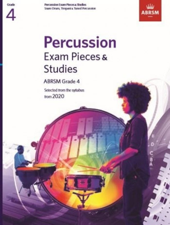 ABRSM: Percussion Exam Pieces & Studies: Grade 4: From 2020