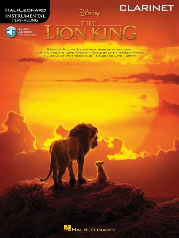 Instrumental Play-Along: The Lion King: French Horn: Book & Online Audio