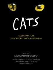 Cats Selection: Descant Recorder & Piano