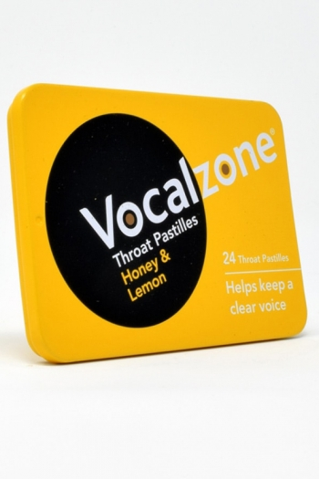 Vocalzone Honey & Lemon Pocket Tin