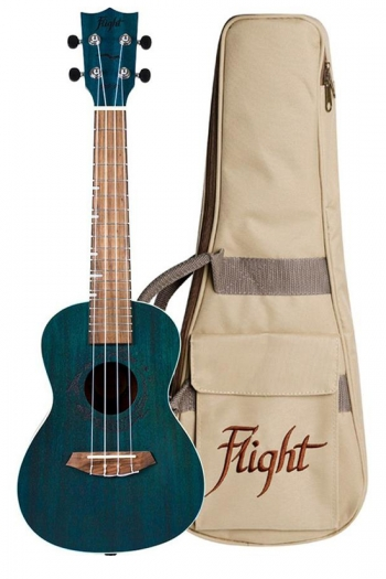 Flight DUC380 Concert Ukulele - Gemstone Topaz (With Bag)