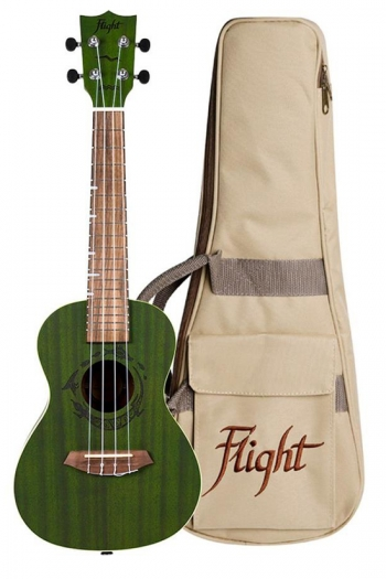 Flight DUC380 Concert Ukulele - Gemstone Jade (With Bag)