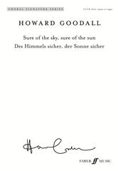Sure Of The Sky, Sure Of The Sun Vocal SATB