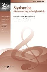 Siyahamba: Vocal SA And (men) Piano  (lestrange)