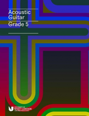 London College Of Music (LCM) Acoustic Guitar Handbook From 2020 Grade 5 (RGT)