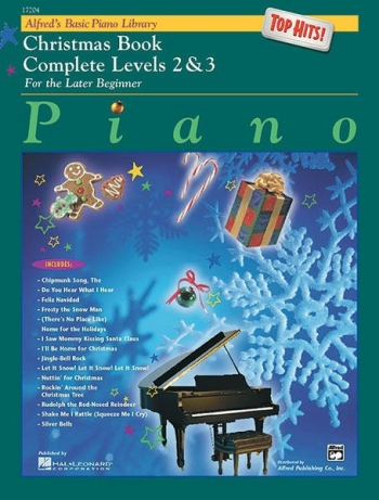 Alfred's Basic Piano Library For The Later Beginner: Complete Levels 2 & 3: Christmas Boo