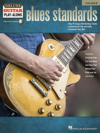 Deluxe Guitar Play-Along Volume 5: Blues Standards