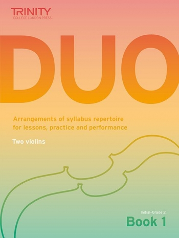 Trinity College London Duo - Two Violins: Book 1