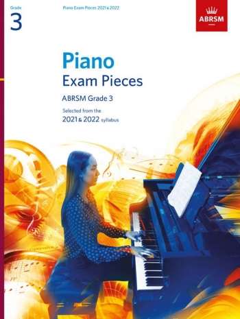 ABRSM Piano Exam Pieces Grade 3: 2021 & 2022 Book Only