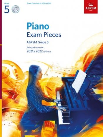 ABRSM Piano Exam Pieces Grade 5: 2021 & 2022 Book & CD