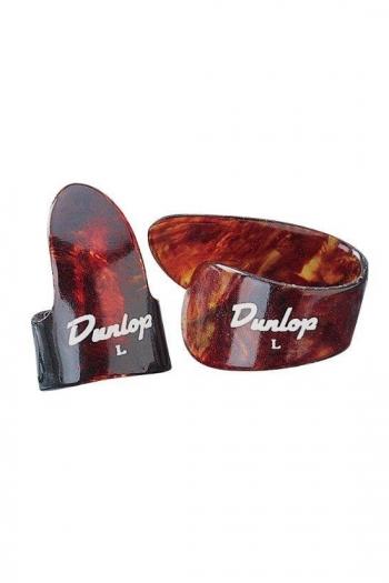 Dunlop 1 Thumb 3 Finger Picks Medium Shell