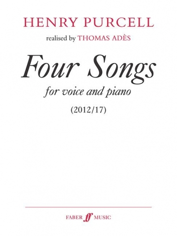 Four Songs For Medium Voice And Piano
