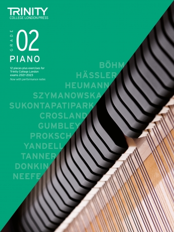 Trinity College London Piano Exam Pieces & Exercises 2021-2023 Grade 2