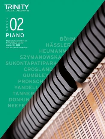 Trinity College London Piano Exam Pieces & Exercises 2021-2023 Grade 2