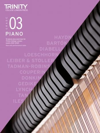Trinity College London Piano Exam Pieces & Exercises 2021-2023 Grade 3