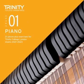 Trinity College London Piano Exam Pieces & Exercises 2021-2023 Grade 1 (CD Only)