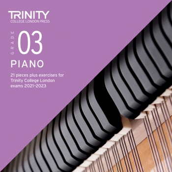 Trinity College London Piano Exam Pieces & Exercises 2018-2020 Grade 3 (CD Only)