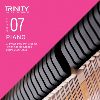 Trinity College London Piano Exam Pieces & Exercises 2018-2020 Grade 7 (CD Only)