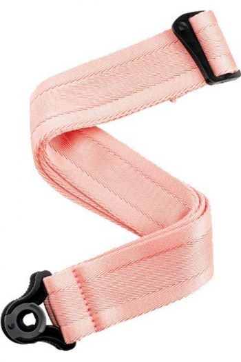 D'Addario Auto Lock Guitar Strap - New Rose