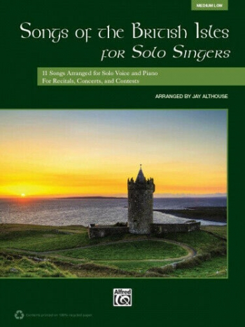 Songs Of The British Isles For Solo Singers: Medium Low: Book & Cd