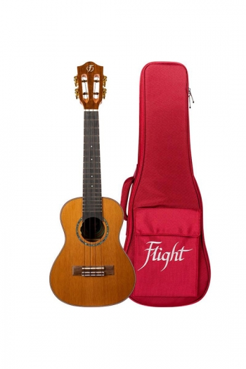Flight: Diana Concert Electro Ukulele - Solid Cedar Top (With Bag)
