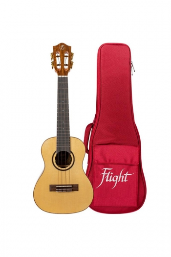 Flight: Sophia Concert Electro Ukulele - Solid Spruce Top (With Bag)