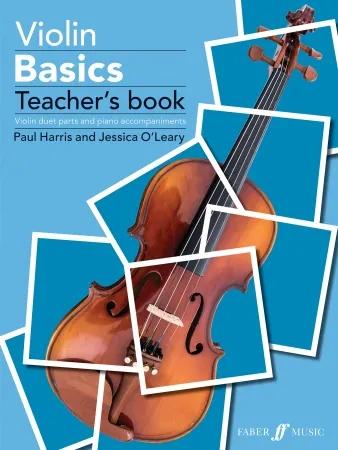 Violin Basics Teacher's Book: Accompaniment Book & Donwload