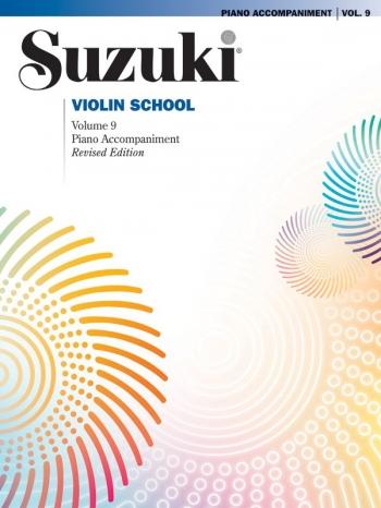 Suzuki Violin School Vol.9 Violin Piano Accomp