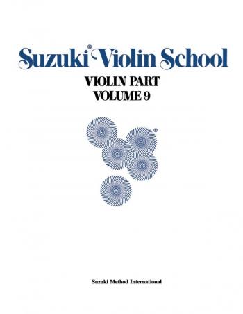 Suzuki Violin School Vol.9 Violin Part