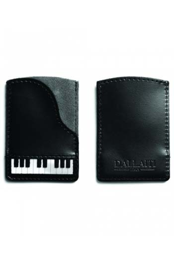 Leather Credit Card Case Piano