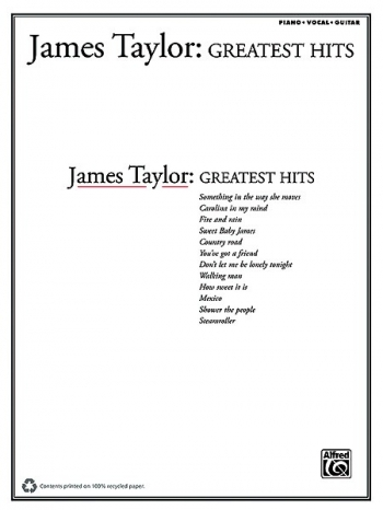 James Taylor: Greatest Hits: Piano Vocal Guitar