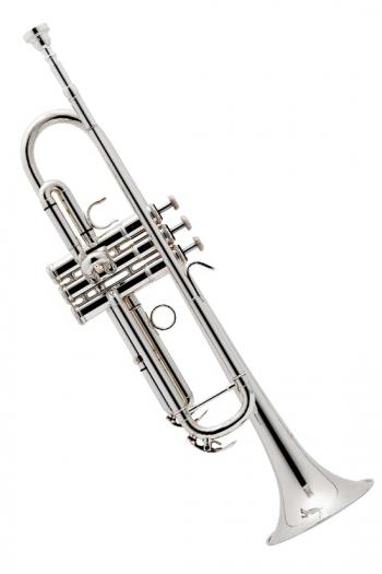 Besson 110 Trumpet: Silver