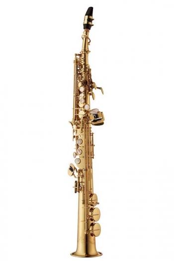 Yanagisawa SWO10 Soprano Sax Elite - Lacquered Brass