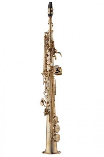 Yanagisawa SWO10 Soprano Sax Elite - Unlacquered Brass