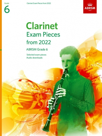 ABRSM Clarinet Exam Grade 6 From 2022: Pieces & Download