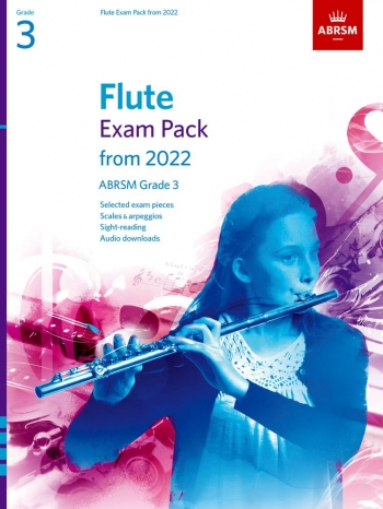 ABRSM Flute Exam Pack Grade 3 From 2022: Pieces Scales Sight-reading & Download