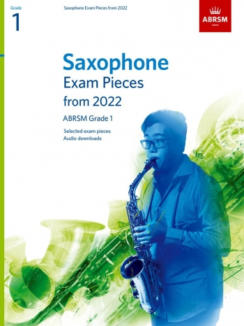 ABRSM Saxophone Exam Grade 1 From 2022: Pieces & Download