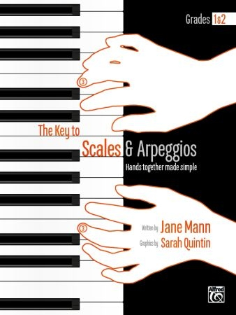 The Key To Scales & Arpeggios Piano Grade 1-2 (Mann)