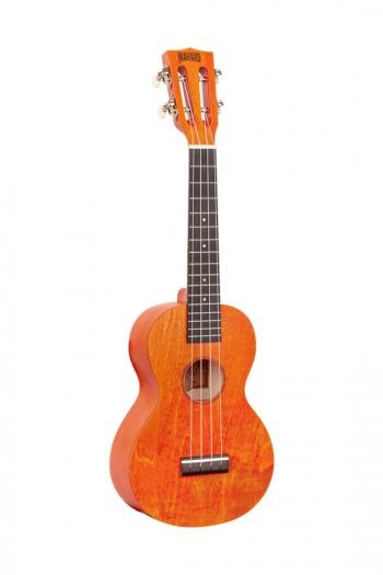 Mahalo Island Orange Sunset Concert Ukulele