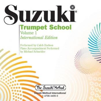 Suzuki Trumpet School, Volume 1: Cd Only