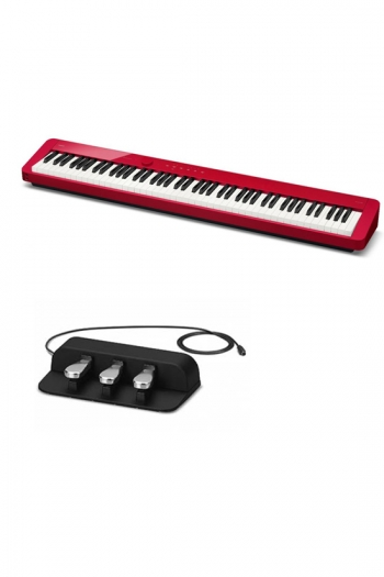 Casio PX-S1100 Digital Piano: Red