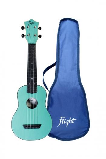 Flight: TUS35LB Travel Soprano Ukulele ABS Travel Ukulele – Light Blue